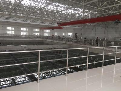 山东青岛某污水处理厂安装案例